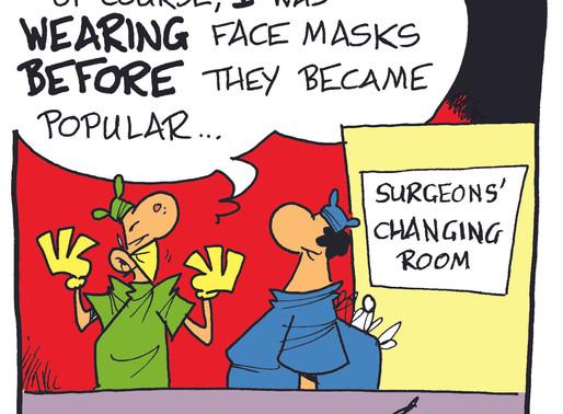 Lock-Down Cartoons.