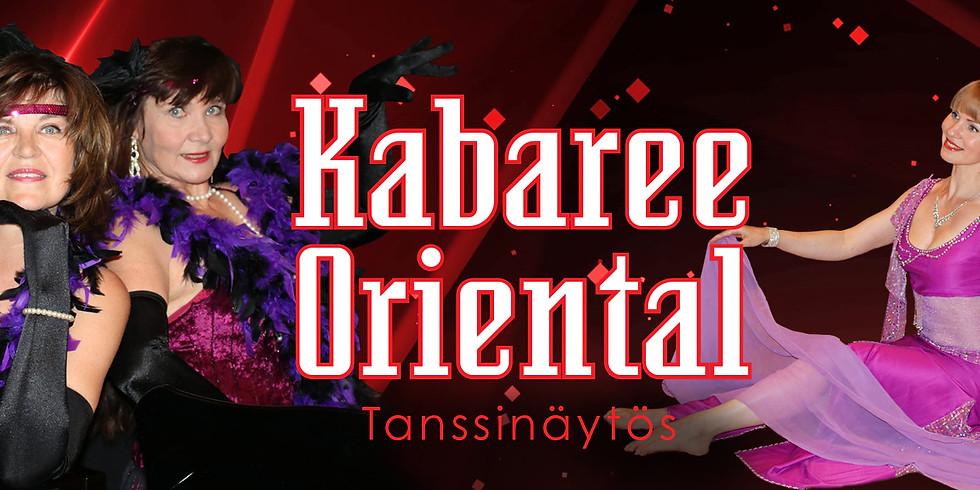 Kabaree Oriental -tanssinäytös