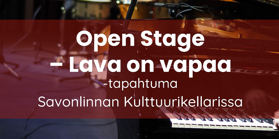 Open Stage – Lava on vapaa -illat marraskuussa: MUSIIKKI