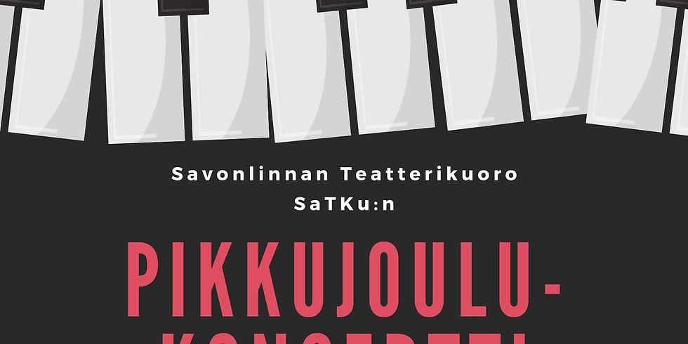Savonlinnan Teatterikuoro SaTKun pikkujoulukonsertti