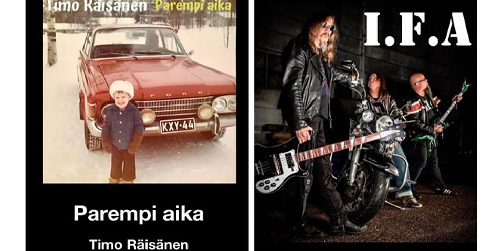 Siirtyy keväälle 2021: Timo Räisänen ja I.F.A keikkailta