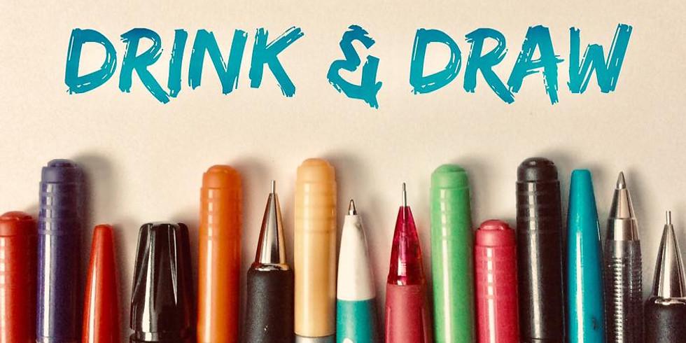 Drink & Draw kellarin ravintolassa