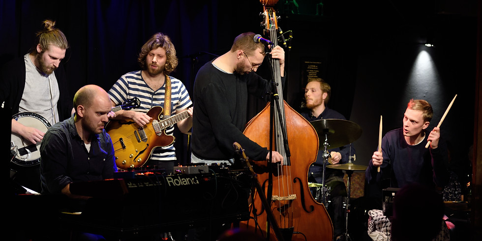 Peruttu, siirtyy : The indiejazz sextet 'I Think You're Awesome' (Tanska)
