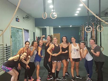 Equipe feminina CrossFit Sergipe!