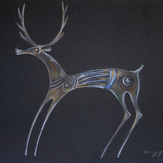 Deer, 2014 [GJ14G-175]