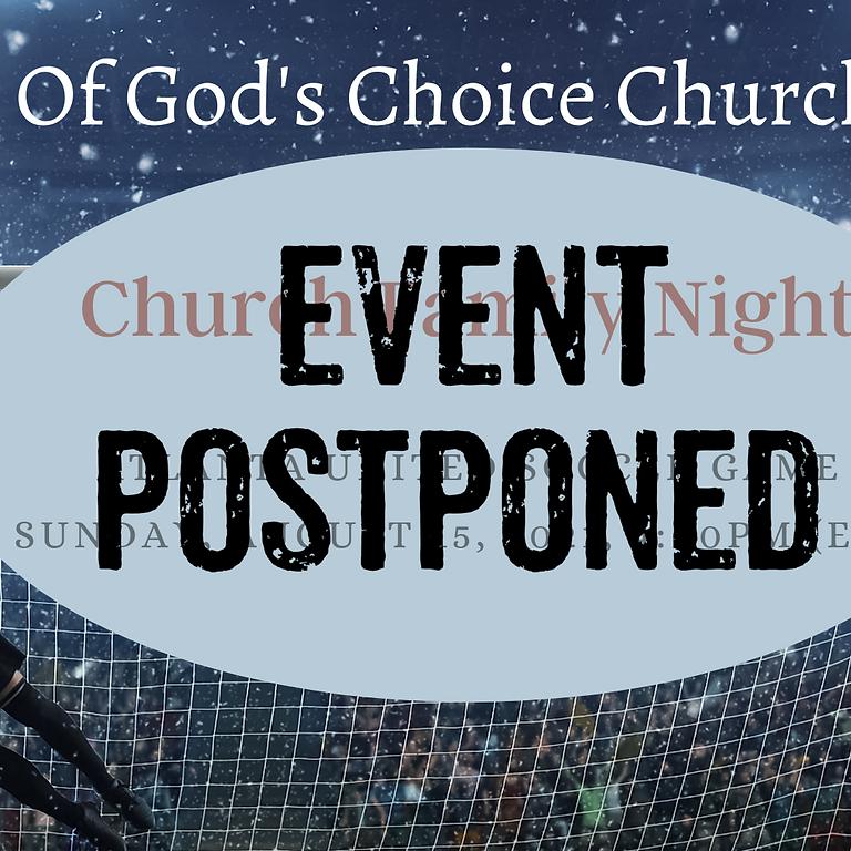 POSTPONED - Church Family Event