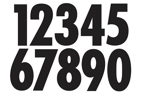 Kart Numbers