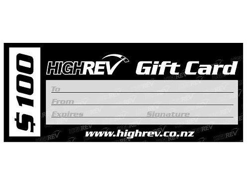 High Rev Gift Card $100