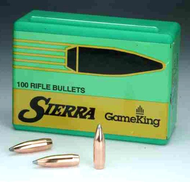 Sierra 6mm \  243 100gr SBT Gameking 100ct Bullets | elnasportingsupplies