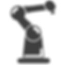 Robotic arm clipart vector icon Augmentus Singapore
