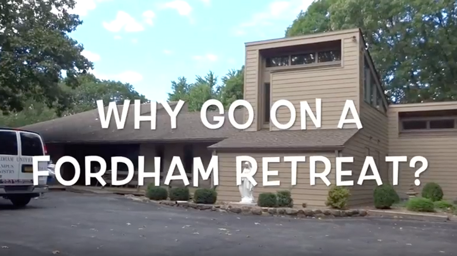Join Us On A Fordham Retreat!