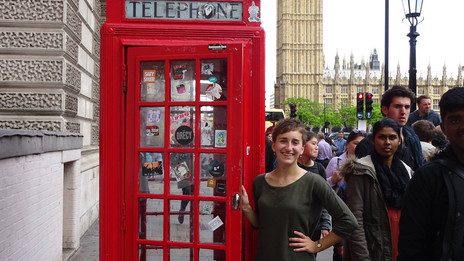 Sarah's Study Abroad in London