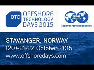 Velkommen til Offshore technology days 2015 i Stavanger