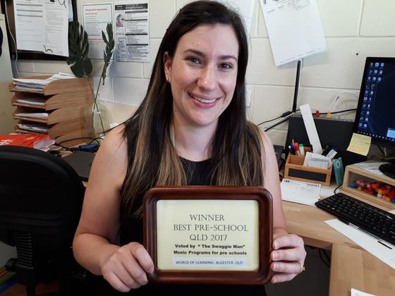 Best Pre-School QLD 2017