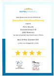 Auszeichnung 4 Sterne