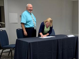 AAPA & IAMPE Sign Agreement Expanding Port Workforce Development