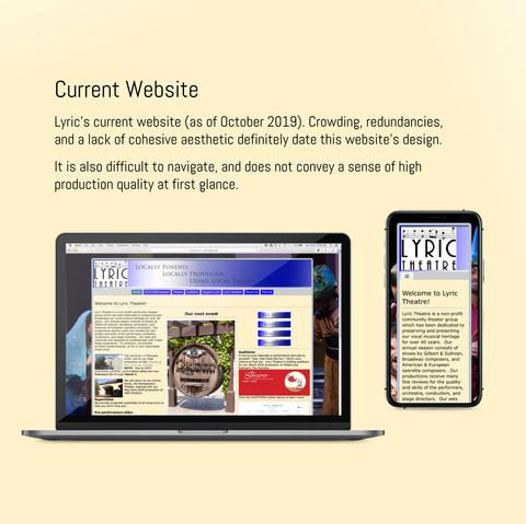 Lyric Theatre - Old Website