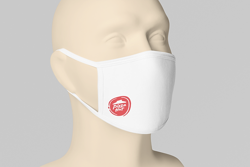 Pizza Hut Face Mask -White