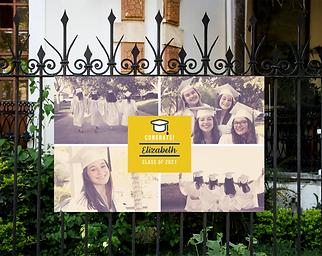 Grad Banner Collage