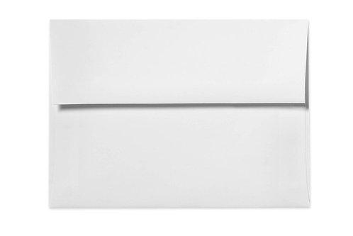 """A7 - 5.25""""x7.25 Blank Envelopes"""