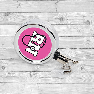 personalized badge reel