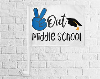 MiddleSchool_PeaceOutCarFlag.jpg