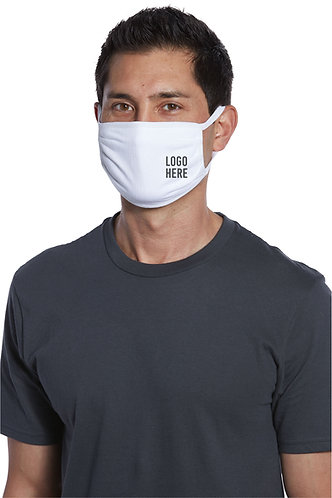 Cotton Knit Face Mask -Printed