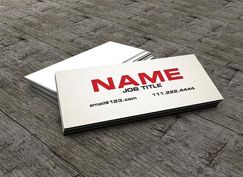 Slim Business Card