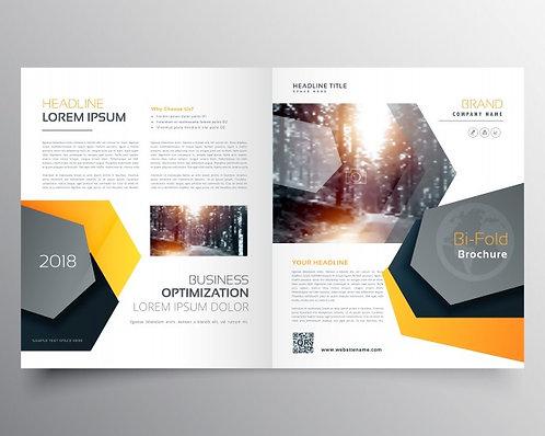 "8.5"" x 11"" Half Fold Brochures"