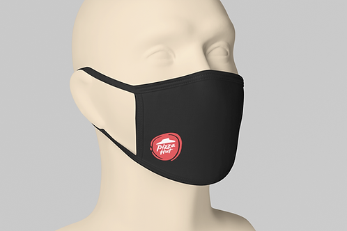 Pizza Hut Face Mask - Black