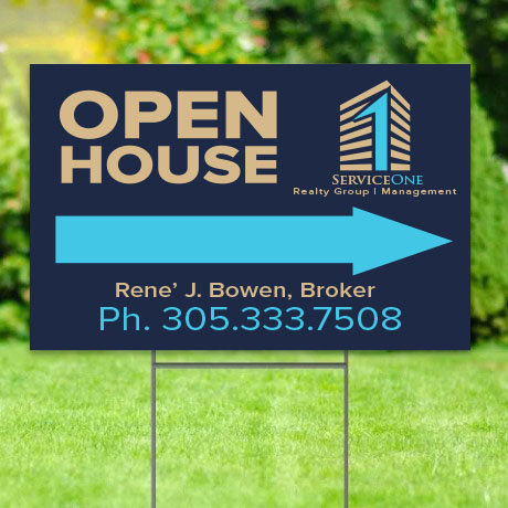 S1R - Open House Yard Signs