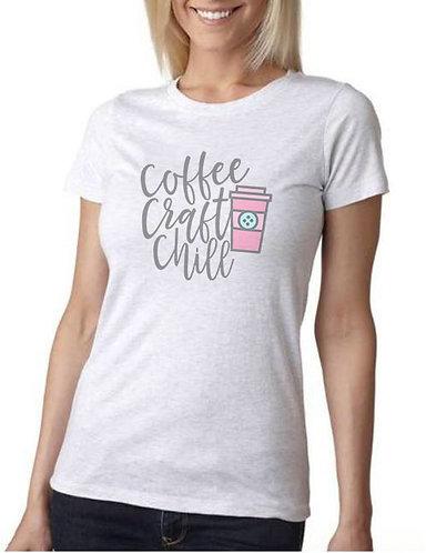 Coffee Craft Chill Ladies' Tee