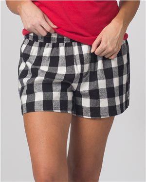 Women's Flannel Shorts