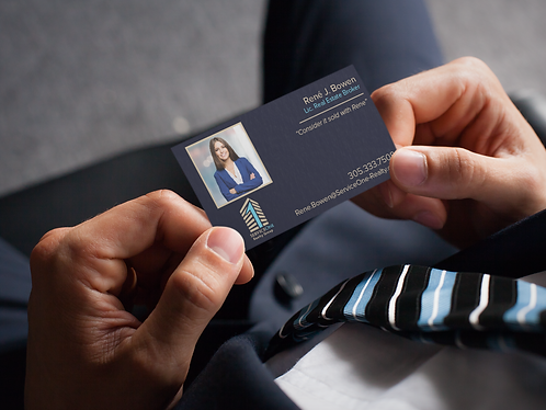 S1R - Agent Business Cards w/picture