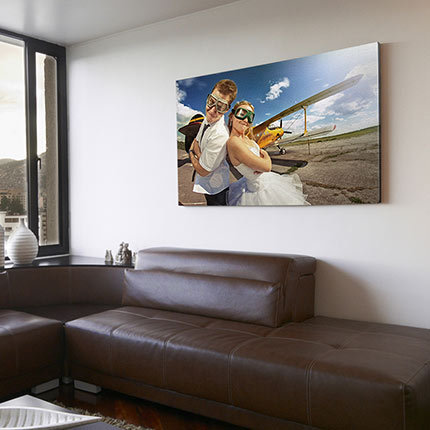 Mounted Canvas