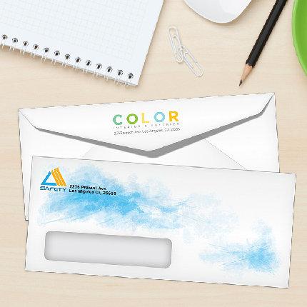 "#10 Window - 4.125""x9.5"" Digital Envelopes"