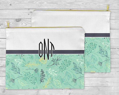 Forest Herb Cosmetic Bag