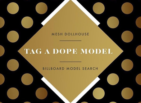 Tag A Dope Model 💅🏾👠👑