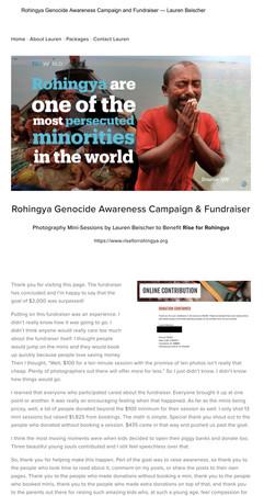 Rohingya Genocide Awareness Campaign and Fundraiser — Lauren Beischer.jpg