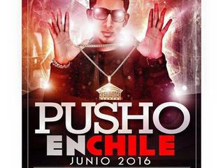 Pusho Se Presenta En Chile!!