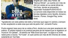 """Pusho estrena canción y videoclip """"Más Dura Que Ayer"""""""