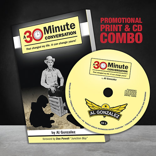 A 30 Minute Conversation: Print & CD Combo