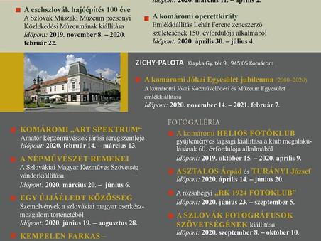 Duna menti Múzeum kiállításai