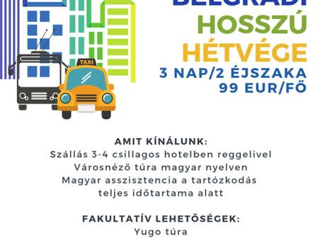 Belgrádi hosszú hétvége - Szerbiamagyarul.com (SRB)