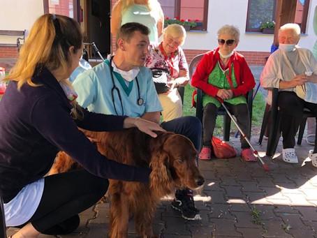 Mezigenerační setkání s veterinářem