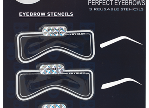 KRYOLAN Eyebrow Stencils