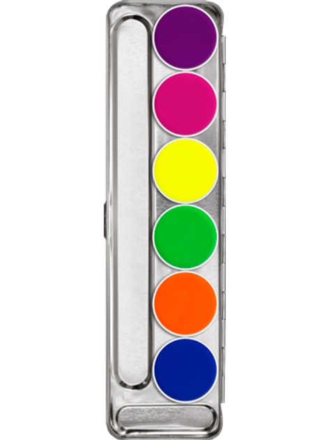 KRYOLAN Aquacolor UV-Palette