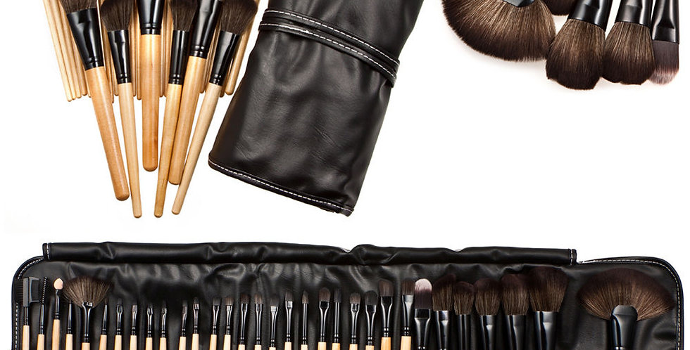 Professional Soft Brush Set 32pc
