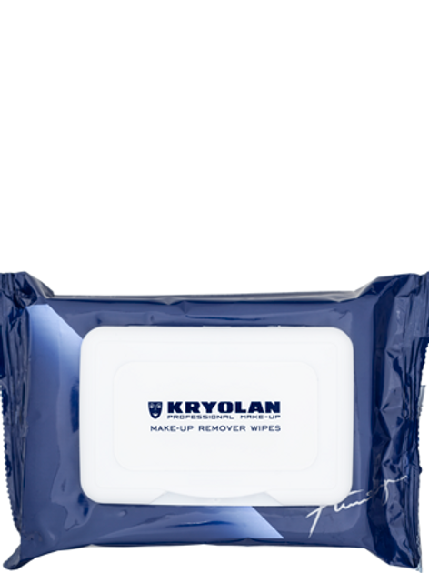 Kryolan Make-up Remover Wipes Soft Pack