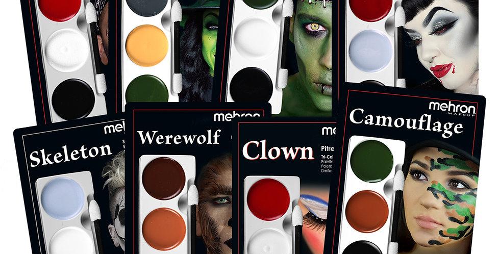 MEHRON Tri-Color Makeup Palette